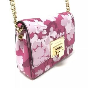 b1cdbef322ae Michael Kors Bags - JUST IN! Small Pink Floral Clutch Crossbody by MK